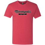 Vintage Red / S Minneapolis Nation T-shirt - The Nation Clothing