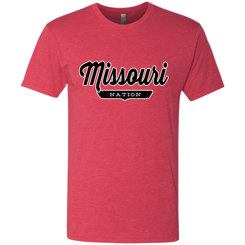 Vintage Red / S Missouri Nation T-shirt - The Nation Clothing