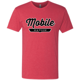 Vintage Red / S Mobile Nation T-shirt - The Nation Clothing