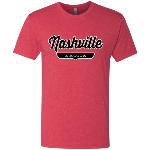 Vintage Red / S Nashville Nation T-shirt - The Nation Clothing