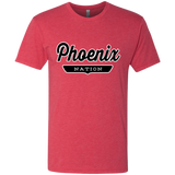 Vintage Red / S Phoenix Nation T-shirt - The Nation Clothing