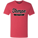 Vintage Red / S Tempe Nation T-shirt - The Nation Clothing