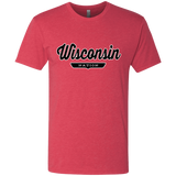 Vintage Red / S Wisconsin Nation T-shirt - The Nation Clothing