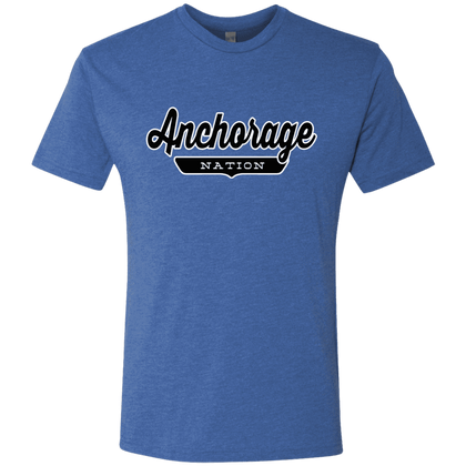 Vintage Royal / S Anchorage Nation T-shirt - The Nation Clothing