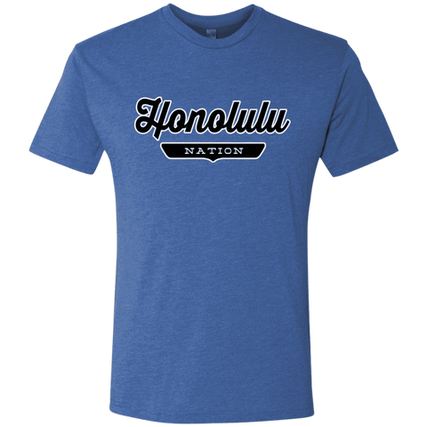 Vintage Royal / S Honolulu Nation T-shirt - The Nation Clothing