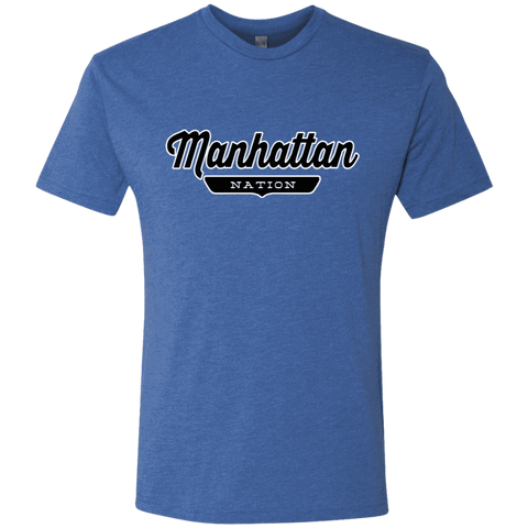 Vintage Royal / S Manhattan Nation T-shirt - The Nation Clothing