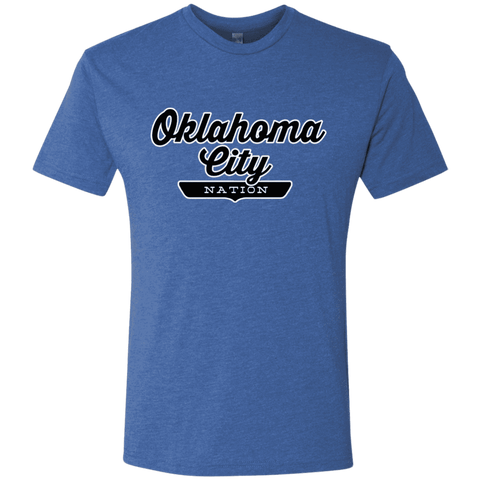 Vintage Royal / S Oklahoma City Nation T-shirt - The Nation Clothing