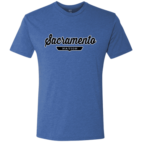 Vintage Royal / S Sacramento Nation T-shirt - The Nation Clothing