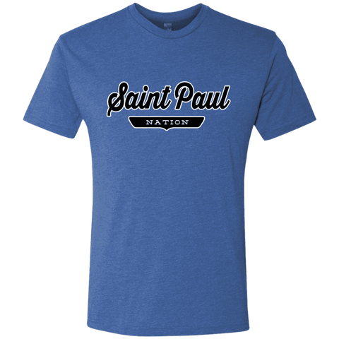 Vintage Royal / S Saint Paul Nation T-shirt - The Nation Clothing