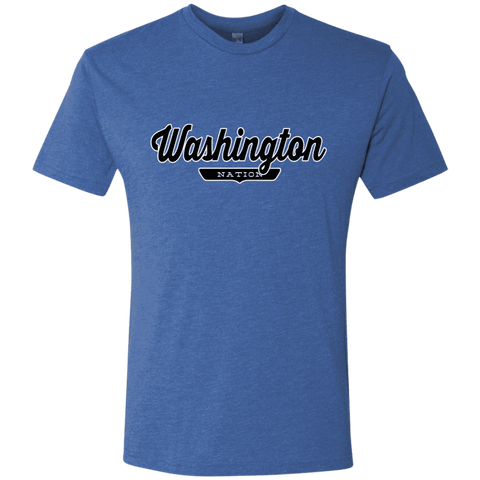 Vintage Royal / S Washington Nation T-shirt - The Nation Clothing