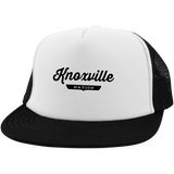 White/Black / One Size Knoxville Nation Trucker Hat with Snapback - The Nation Clothing
