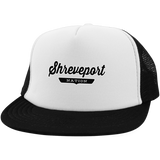 White/Black / One Size Shreveport Nation Trucker Hat with Snapback - The Nation Clothing