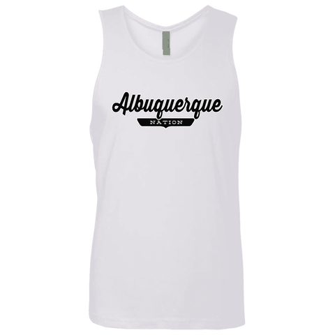 White / S Albuquerque Nation Tank Top - The Nation Clothing