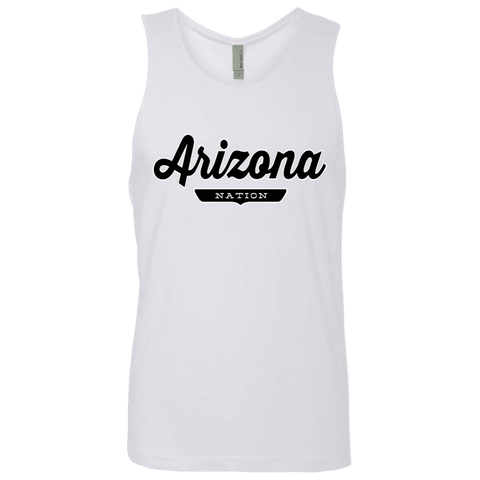 White / S Arizona Nation Tank Top - The Nation Clothing