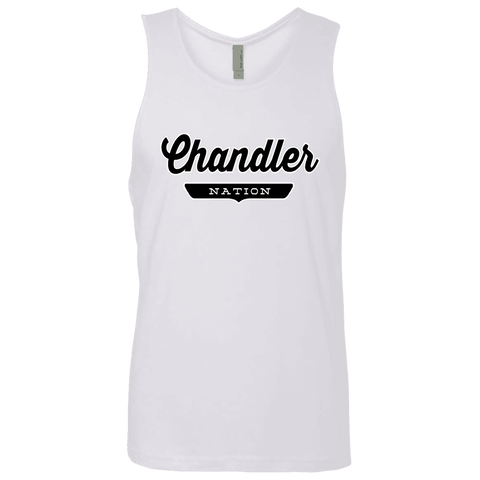 White / S Chandler Nation Tank Top - The Nation Clothing
