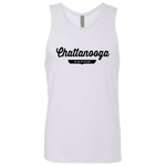 White / S Chattanooga Nation Tank Top - The Nation Clothing
