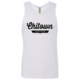 White / S Chitown Tank Top - The Nation Clothing