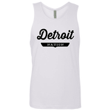 White / S Detroit Nation Tank Top - The Nation Clothing