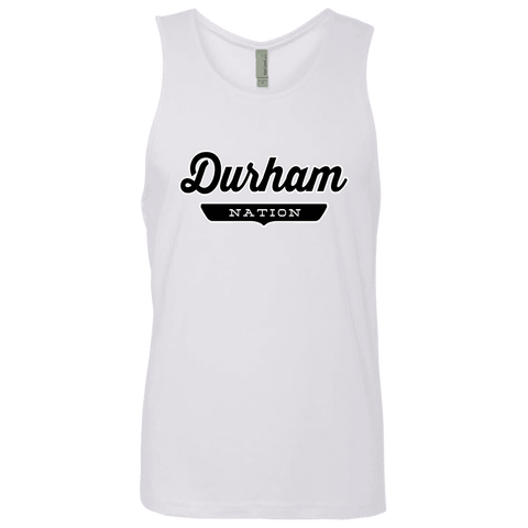 White / S Durham Nation Tank Top - The Nation Clothing