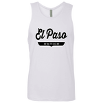 White / S El Paso Nation Tank Top - The Nation Clothing