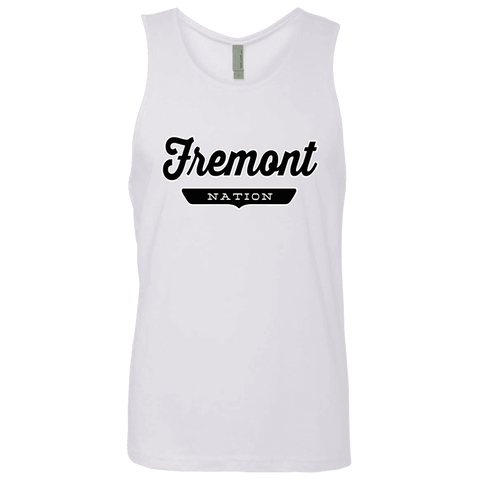 White / S Fremont Nation Tank Top - The Nation Clothing