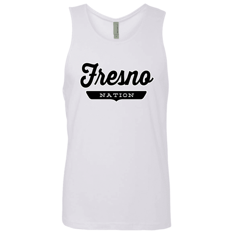 White / S Fresno Nation Tank Top - The Nation Clothing