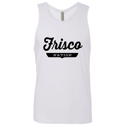 White / S Frisco Nation Tank Top - The Nation Clothing
