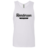 White / S Henderson Nation Tank Top - The Nation Clothing