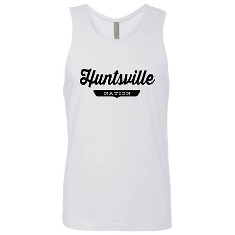 White / S Huntsville Nation Tank Top - The Nation Clothing