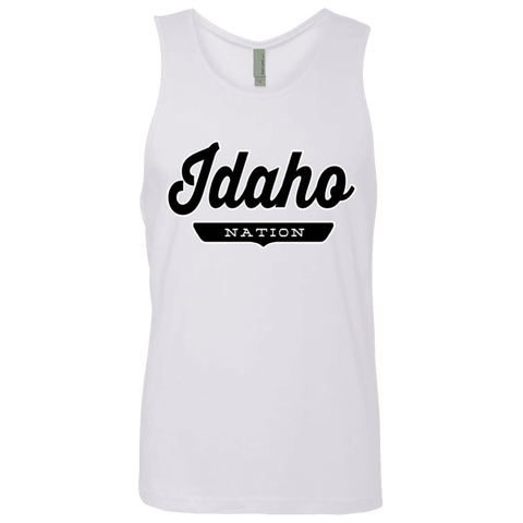 White / S Idaho Nation Tank Top - The Nation Clothing