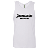 White / S Jacksonville Nation Tank Top - The Nation Clothing