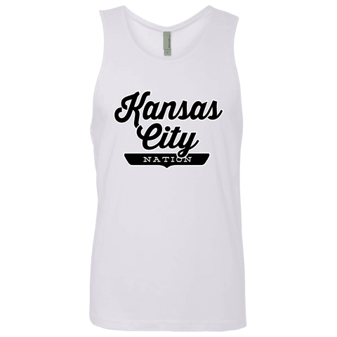 White / S Kansas City Nation Tank Top - The Nation Clothing