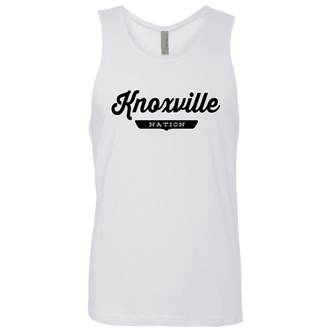 White / S Knoxville Nation Tank Top - The Nation Clothing