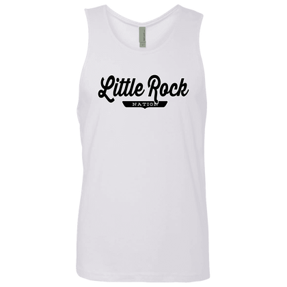 White / S Little Rock Nation Tank Top - The Nation Clothing