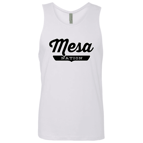 White / S Mesa Nation Tank Top - The Nation Clothing
