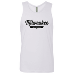 White / S Milwaukee Nation Tank Top - The Nation Clothing