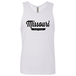 White / S Missouri Nation Tank Top - The Nation Clothing