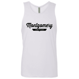 White / S Montgomery Nation Tank Top - The Nation Clothing