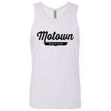 White / S Motown Tank Top - The Nation Clothing