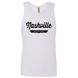 White / S Nashville Nation Tank Top - The Nation Clothing