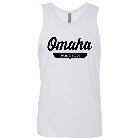 White / S Omaha Nation Tank Top - The Nation Clothing