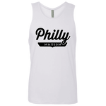 White / S Philly Tank Top - The Nation Clothing
