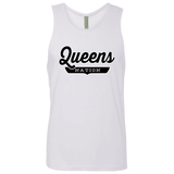 White / S Queens Nation Tank Top - The Nation Clothing