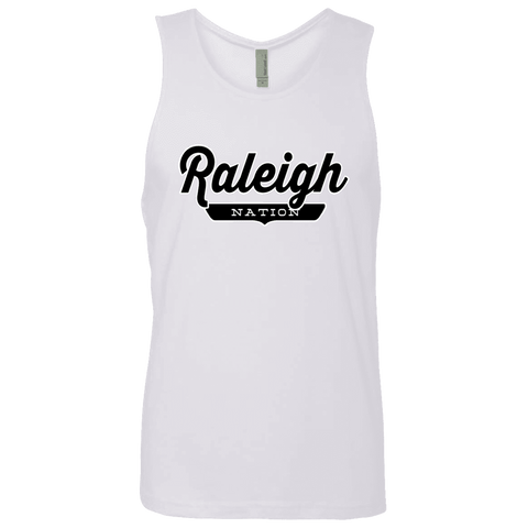 White / S Raleigh Nation Tank Top - The Nation Clothing
