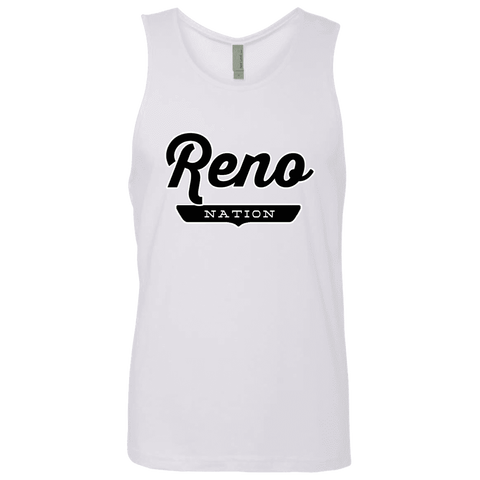 White / S Reno Nation Tank Top - The Nation Clothing