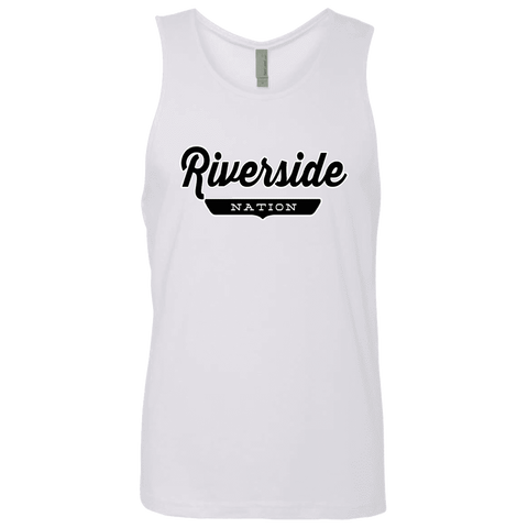 White / S Riverside Nation Tank Top - The Nation Clothing