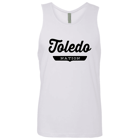 White / S Toledo Nation Tank Top - The Nation Clothing
