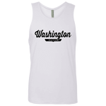 White / S Washington D.C. Nation Tank Top - The Nation Clothing