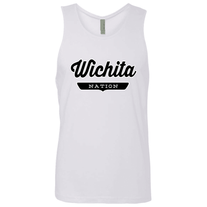 White / S Wichita Nation Tank Top - The Nation Clothing