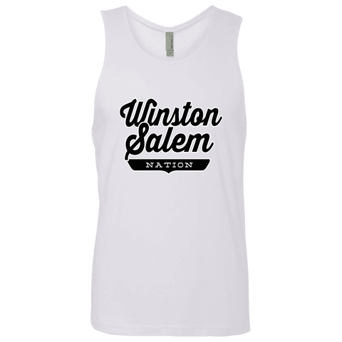 White / S Winston-Salem Nation Tank Top - The Nation Clothing